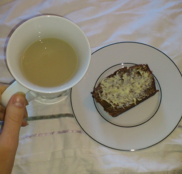 Earl Grey and Banana Bread. Get some of this in your life!
